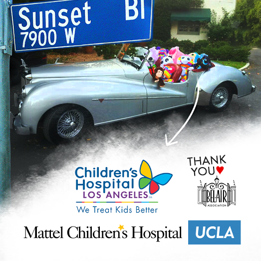 Bel Air Childrens Hospital Toy Drive